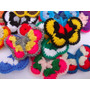 Mariposas Al Crochet (pack De 3 Unidades)