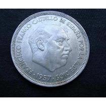 Monedas 50 Pesetas - Franco - 1957