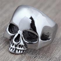Anillo Calavera Keith Richards De Plata 925 Rock Dark Metal