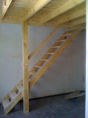 Entrepiso techos escaleras altillos desde 350 for Como hacer escalones