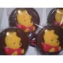 Chupetines De Chocolate De Winnie De Pooh 10x