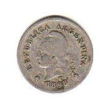 Moneda Niquel 10 Centavos Año 1898 Oferta