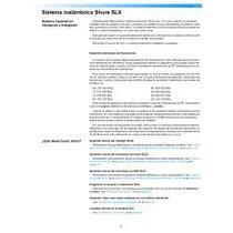 Manual Microfono Shure Sm58 Inalambrico
