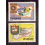 Uruguay Salto Paysandú Serie 2v Yvert 1012/3 Mint
