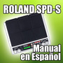 Roland Spd-s - Manual En Español