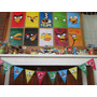 Angry Birds Kit Imprimible Deco Cumple Infantil Candy Bar
