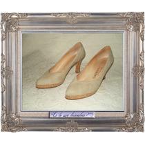 Sarkany Zapatos Gamuza Hand Stitched Shoes (línea Artesanal)