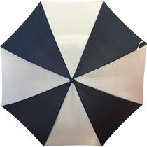 Paraguas Gigante Reforzado Azul Y Blanco Envio Por Correo