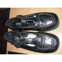 Zapatos Escolares Colegio (tipo Guillermina) 37 Y Medio