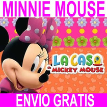 Kit Imprimible Minnie Mouse Candy Bar Golosinas