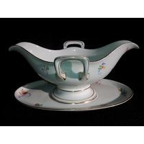 Bauhaus - Salsera Art Deco Porcelana Bavaria Rosenthal 1930