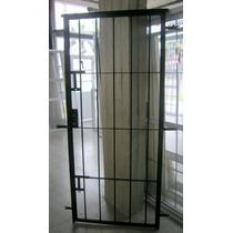 Puerta Reja Hierro Redondo 12mm 0,87x2,00 Mts Final