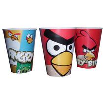 Vasos Descartables Personalizados Angry Bird, Bob Esponja!!