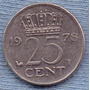 Holanda 25 Cents 1978 * Juliana I *