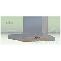 Campana Slim 60 Cm. Acero Inox C/motor Galvitec