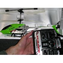 Helicoptero En Caja A Radio Control Metalico Falta Cargador