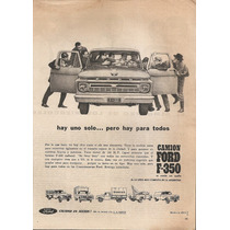 Publicidad Pickup Forf F-350/ Camion Ford F-600 (057)