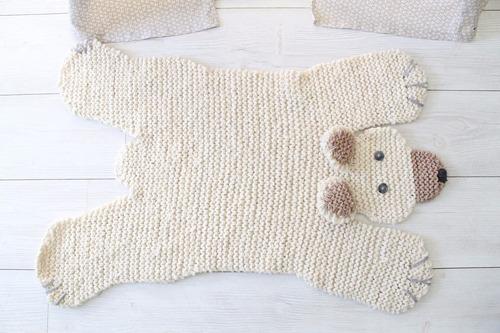 f377aa091 Alfombra Oso Polar Bebes - Lana Baby Boutique - Efvo 12% Off