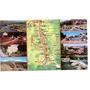 Postal De Sierras De Córdoba Valle De Punilla Con Mapa 1984