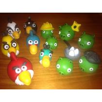 Adorno Para Torta Angry Birds Version Completa