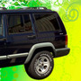 Calcomania 4x4 De Cherokee Sport