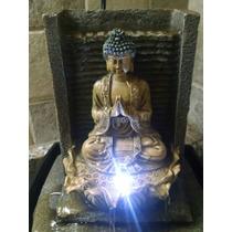 Fuente De Agua Buda Video Con Luz Suerte Zen Feng Shui (724)