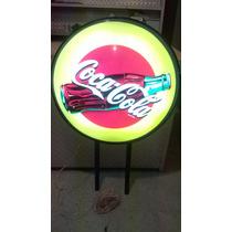 Cartel Coca Cola Luminoso Exelente Estado