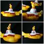 Submarino Amarillo The Beatles De Resina Adorno