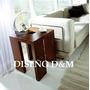 Mesa De Rincon Minimalista Moderna - Muebles - Diseño D&m