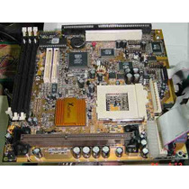 Mother Pcchips Slot 1 748 Lmrt Impecable Completo!con Cables
