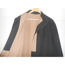 Piloto Impermeable Importado Mujer Reversible Inpecable !!