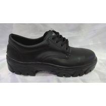 Zapato Trabajo Cuero C/ Puntera Acero. Por Mayor Y Menor