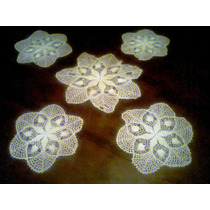 Antiguas Carpetas Tejidas A Crochet