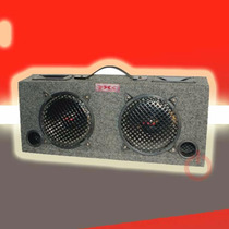 Caja Auto Doble Woofer Tweeter 200 Watts Xxx