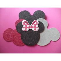 Minnie Mickey Goma Eva, Figura, Apliques, Cumpleaños, Grande