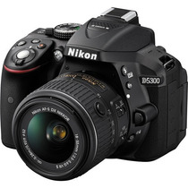 Nikon D5300 Kit 18-55 Vr Full Hd 24mp Wif Gps. Mar Del Plata