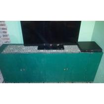 Mueble De Campo Antiguo Aparador Comoda Alacena Tv Lcd