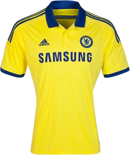 a21a5f90da Camiseta Oficial Chelsea Suplente 2015 16 Original!
