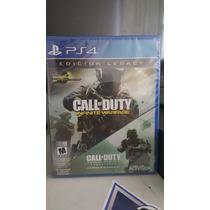 Call Of Duty Infinite Warfare Legacy Edition Ps4-nuevo