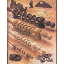 Soportes Para Barrales De Madera 34mm