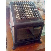 Antigua Máquina Sumadora Burroughs