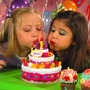 Torta Juliana Cumpleaños Felíz Con Luces Y Sonido La De Tv