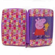 My Little Pony Peppa Pig Cartuchera Canopla 2 Pisos Original