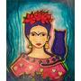 Cuadros Pintura De Frida , Evita. Y Otros Super Oferta!