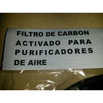 Filtro De Carbon Activado Para Extractor Y Purificador Spar