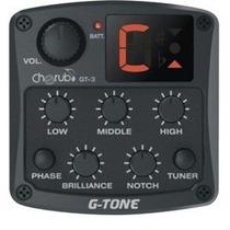 Ecualizador Pre-amplificador Cherub Gt-3 P/guitarra Acustica