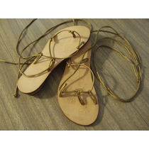 Sandalias Marca Chocolate Bronce - Talle 37 - Impecables!