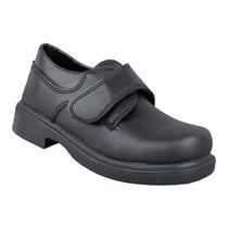 Zapato Colegial De Vestir Abrojo Excelente Calidad 22 Al 38