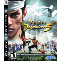 Tremendo! Ps3 Virtua Fighter 5 Original En Caja En Español