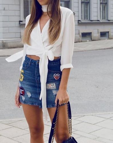 Blusas para mujer Limonni LI155 Casuales